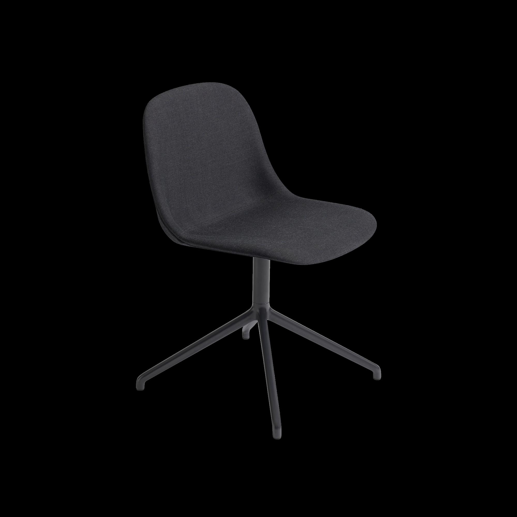 Fiber side chair swivel base w.o. return-8