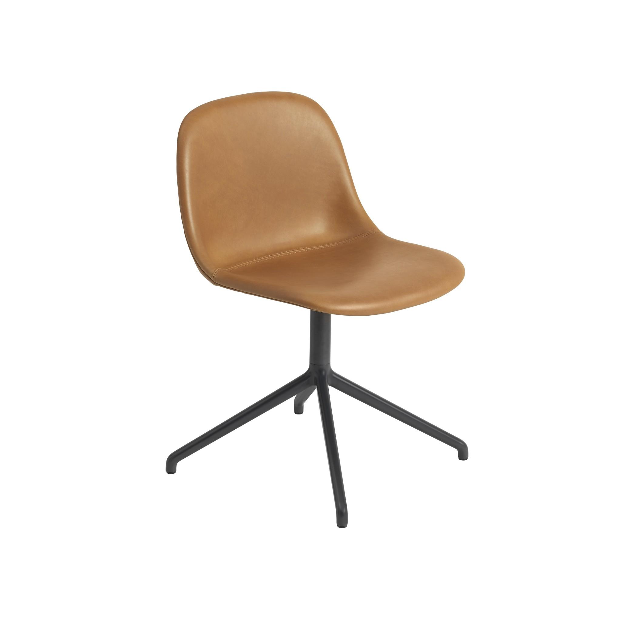 Fiber side chair swivel base w.o. return-9