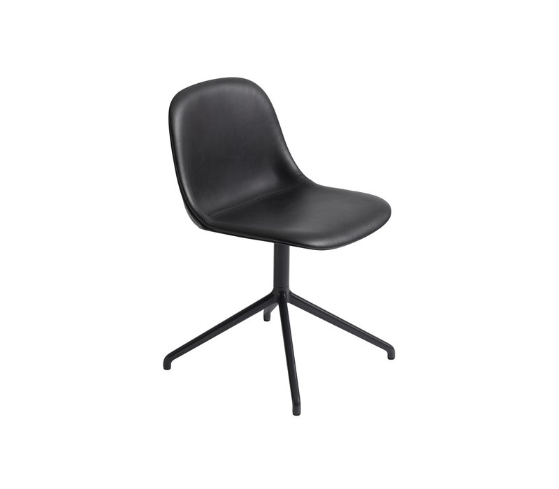 Fiber side chair wivel base w.o. return