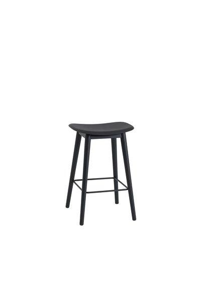 Fiber Counter Stool wood base - 65 cm
