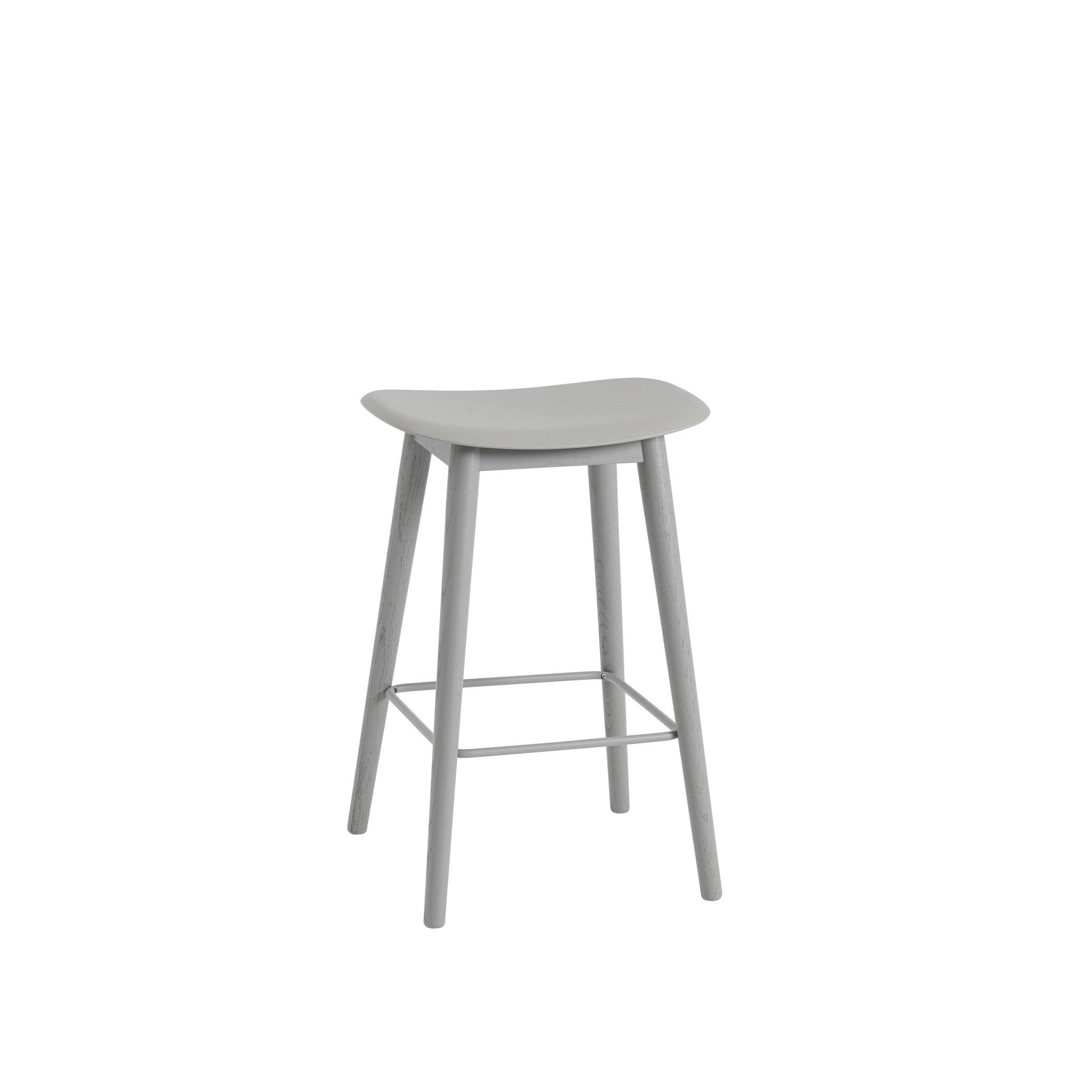 Fiber Counter Stool wood base - 65 cm-3