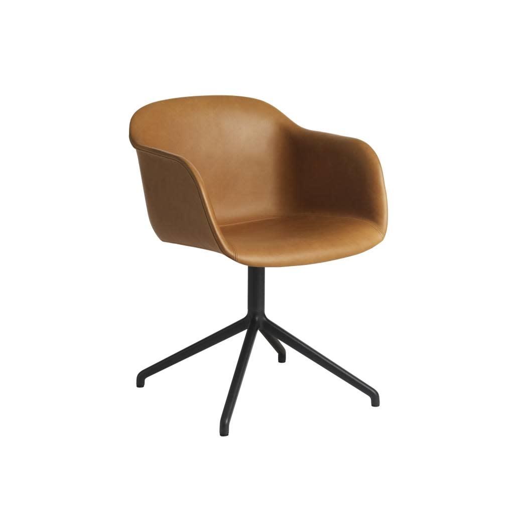 Fiber armchair swivel base w.o. return-3