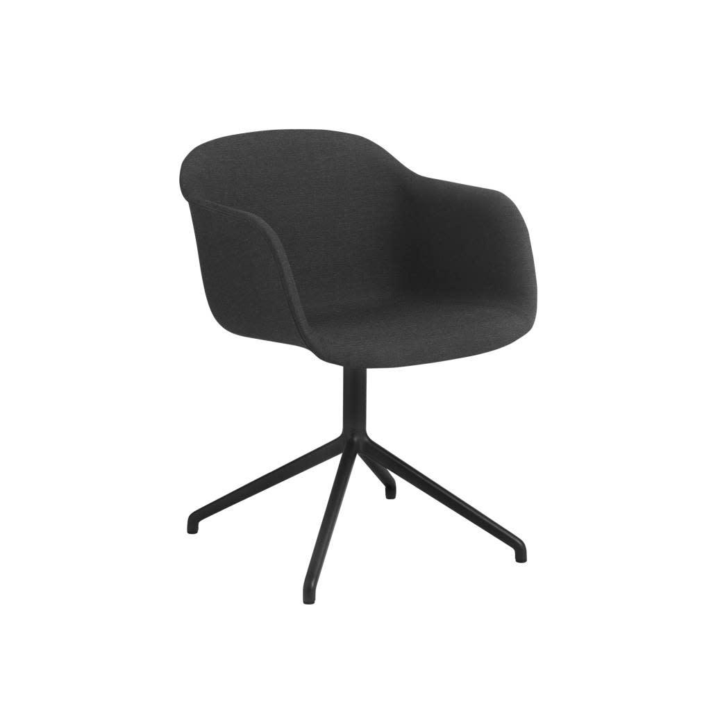 Fiber armchair swivel base w.o. return-5