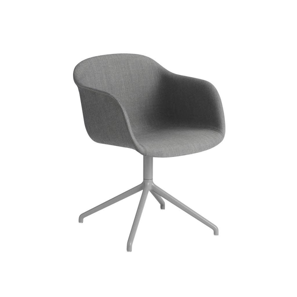 Fiber armchair swivel base w.o. return-6