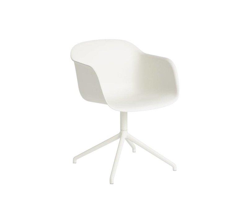 Fiber armchair swivel base w.o. return