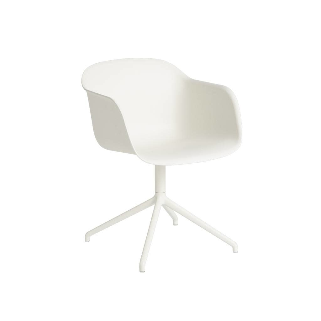 Fiber armchair swivel base w.o. return-7