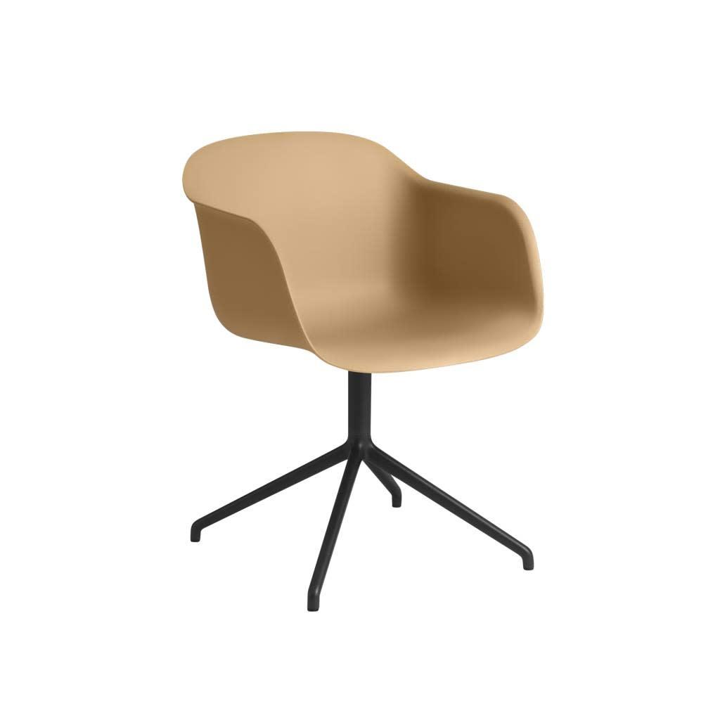 Fiber armchair swivel base w.o. return-8