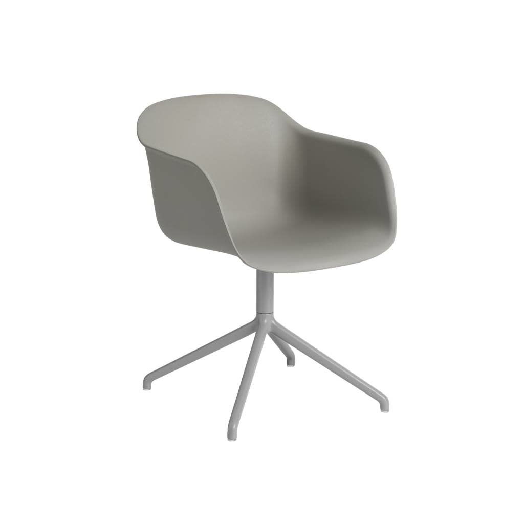 Fiber armchair swivel base w.o. return-10