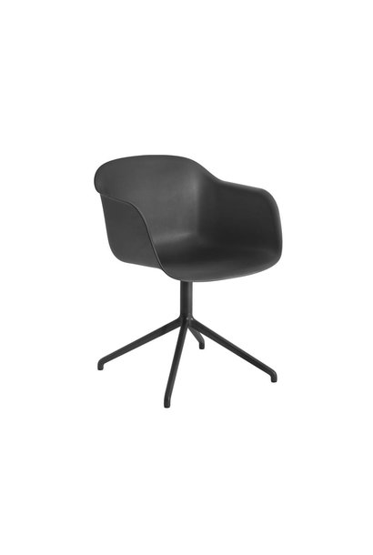Fiber armchair swivel base w.o. return