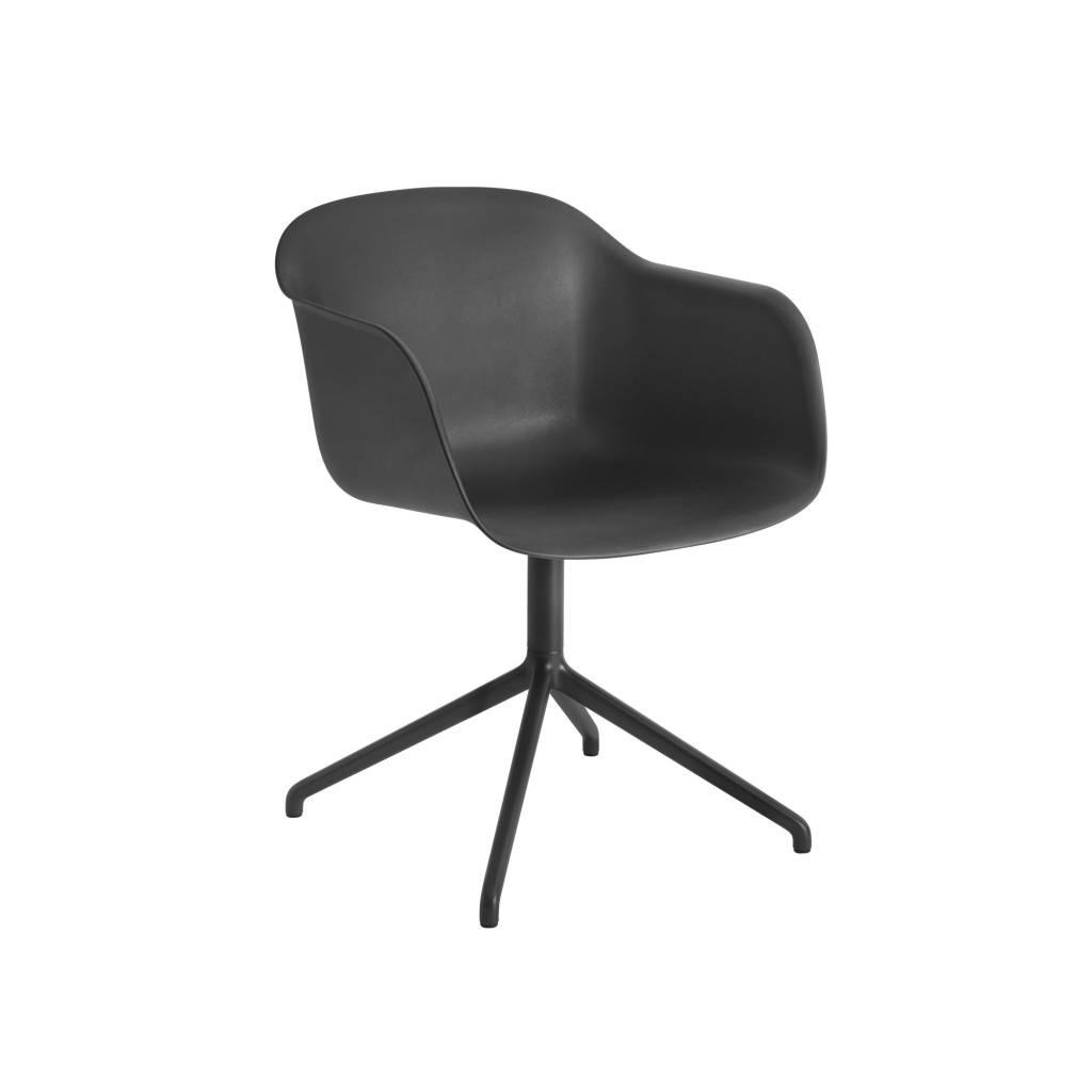 Fiber armchair swivel base w.o. return-1