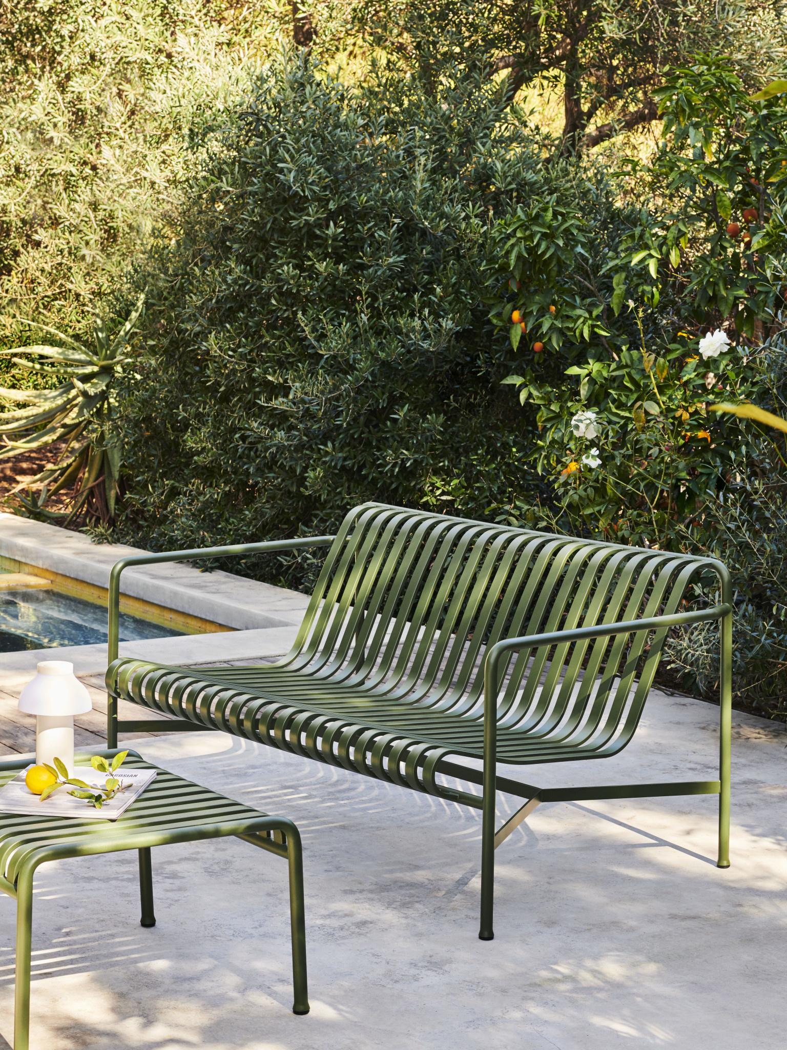 Palissade seat cushion for Lounge sofa-2