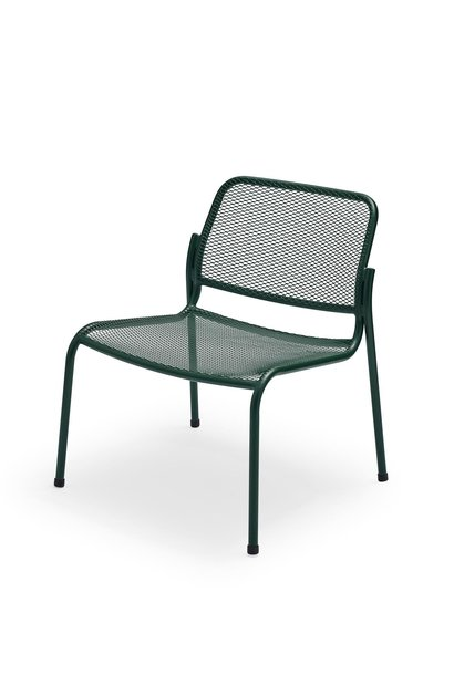 Mira Lounge Chair Steel