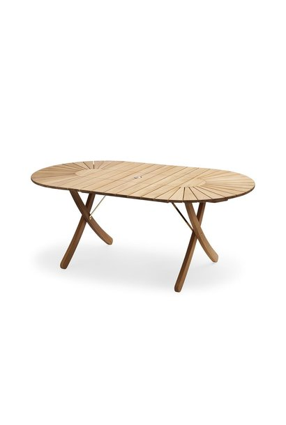 Selandia Table oval Teak