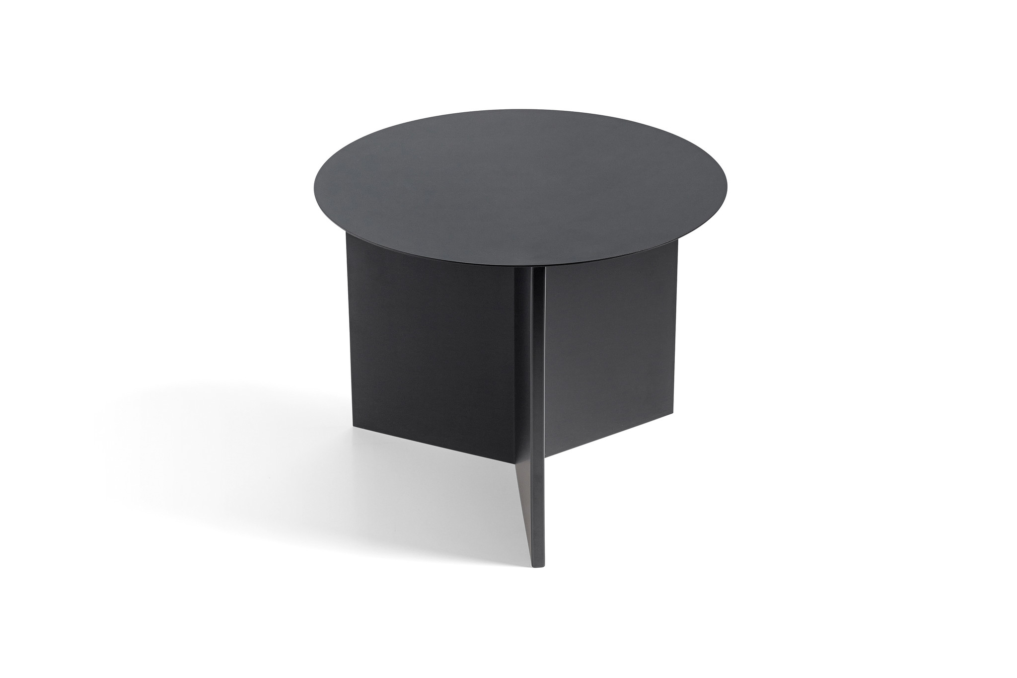 Slit table - Round side table-1