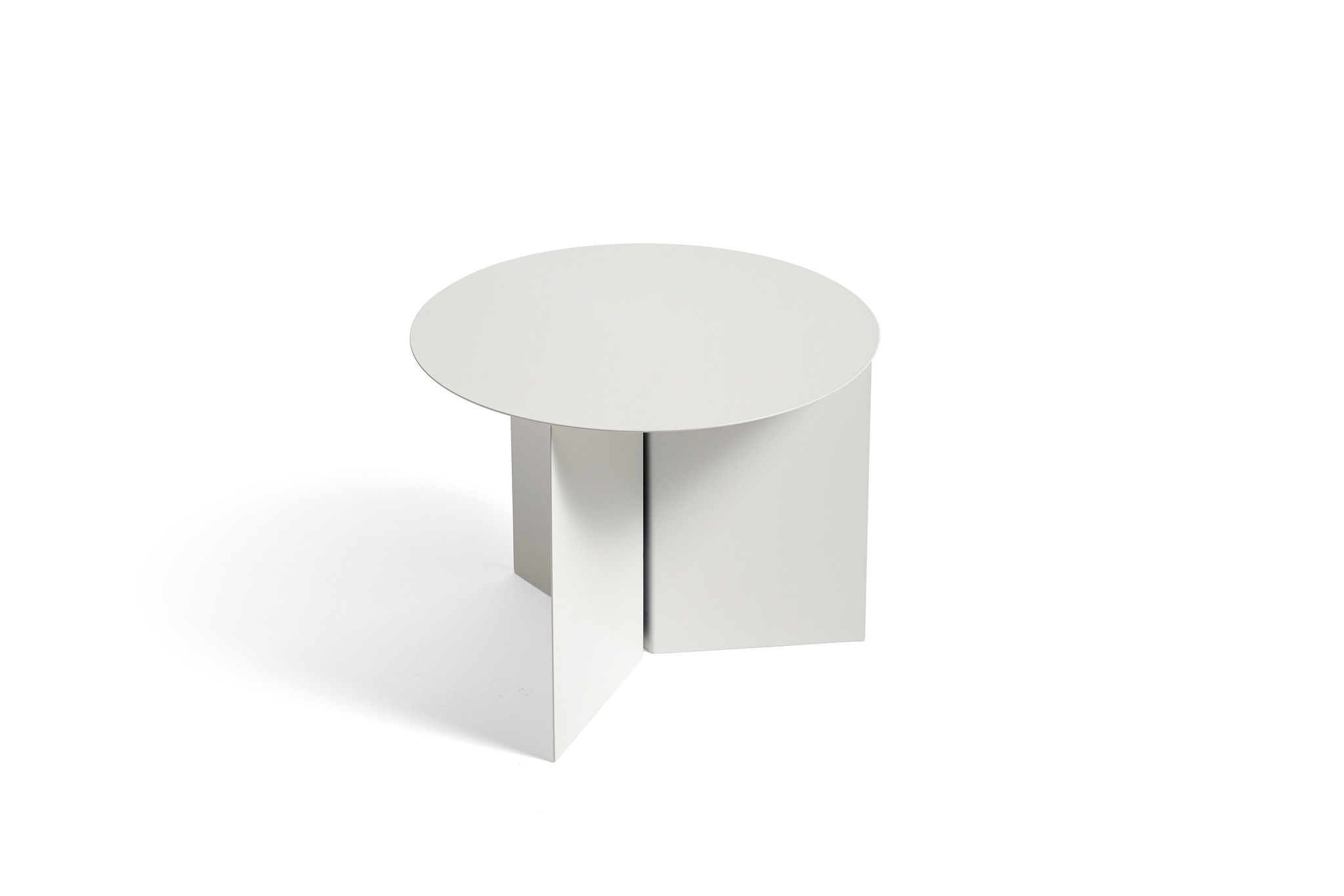 Slit table - Round side table-3