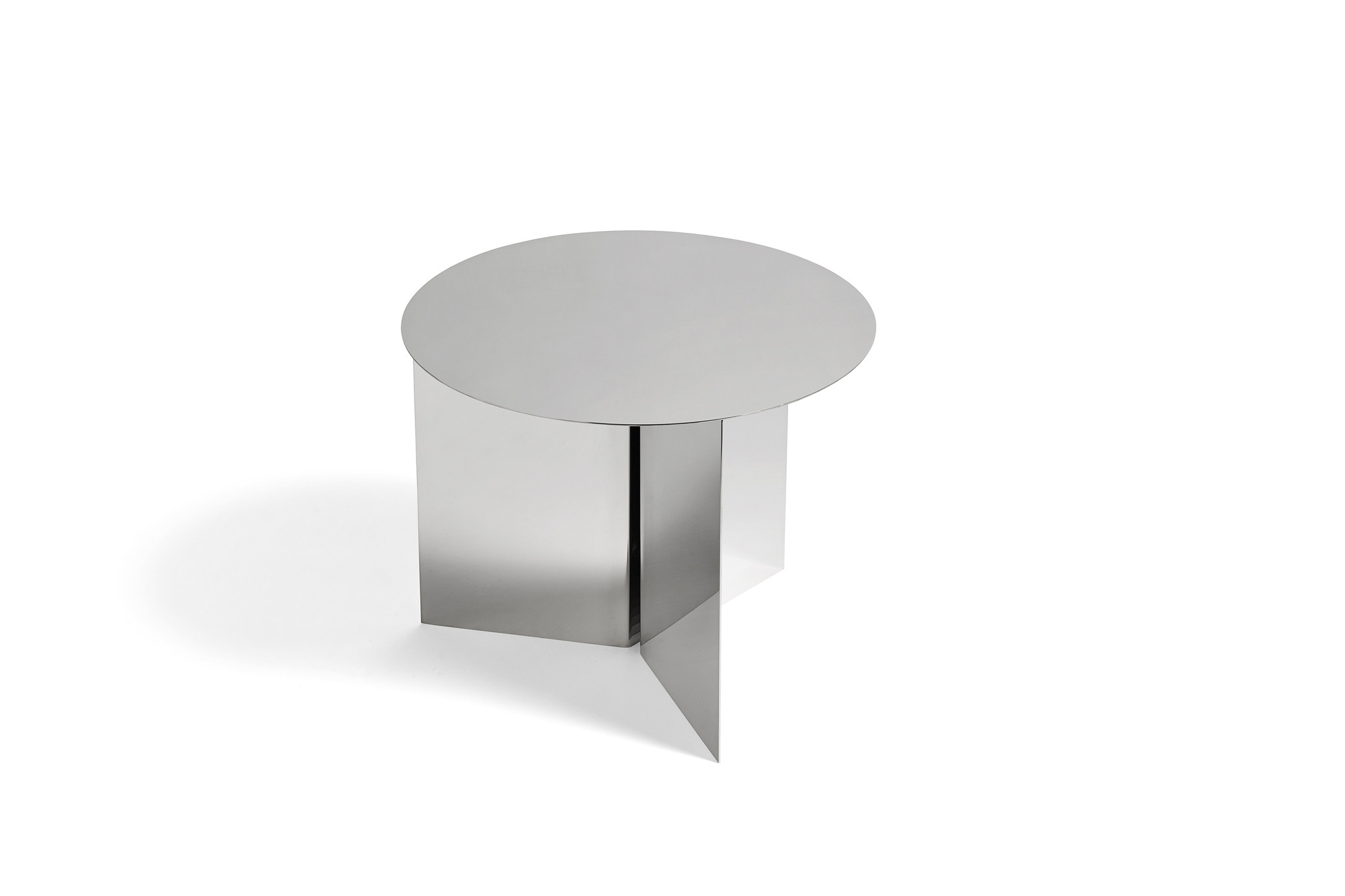 Slit table - Round side table-5
