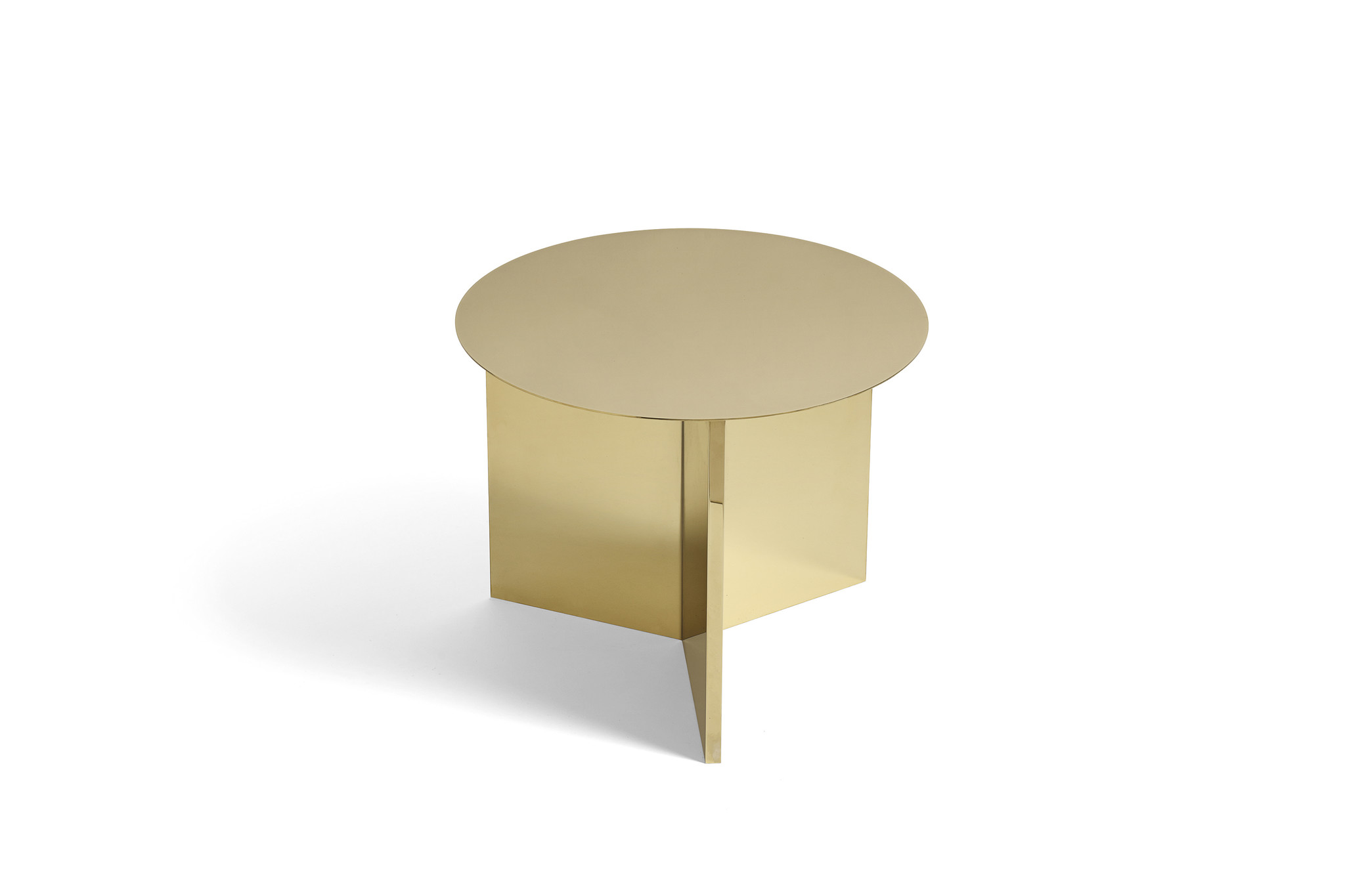 Slit table - Round side table-6