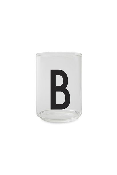 Personal drinking glass (A-Z)