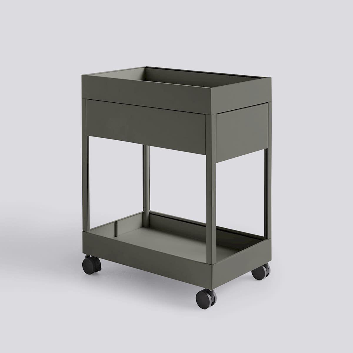 New Order Trolley - A 1 Drawer and tray top incl. lock-2