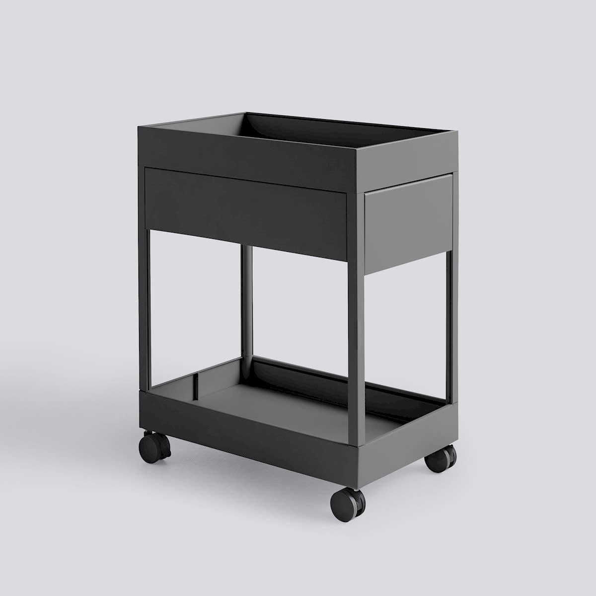 New Order Trolley - A 1 Drawer and tray top incl. lock-3