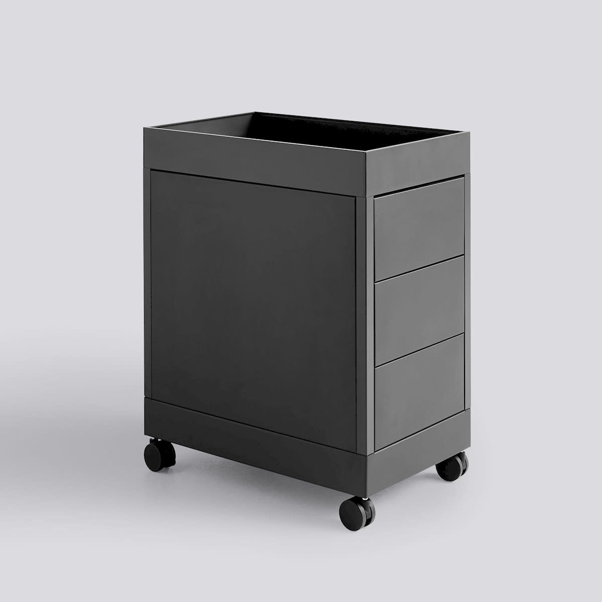 New Order Trolley - B 3 Drawer and tray top incl. lock-1