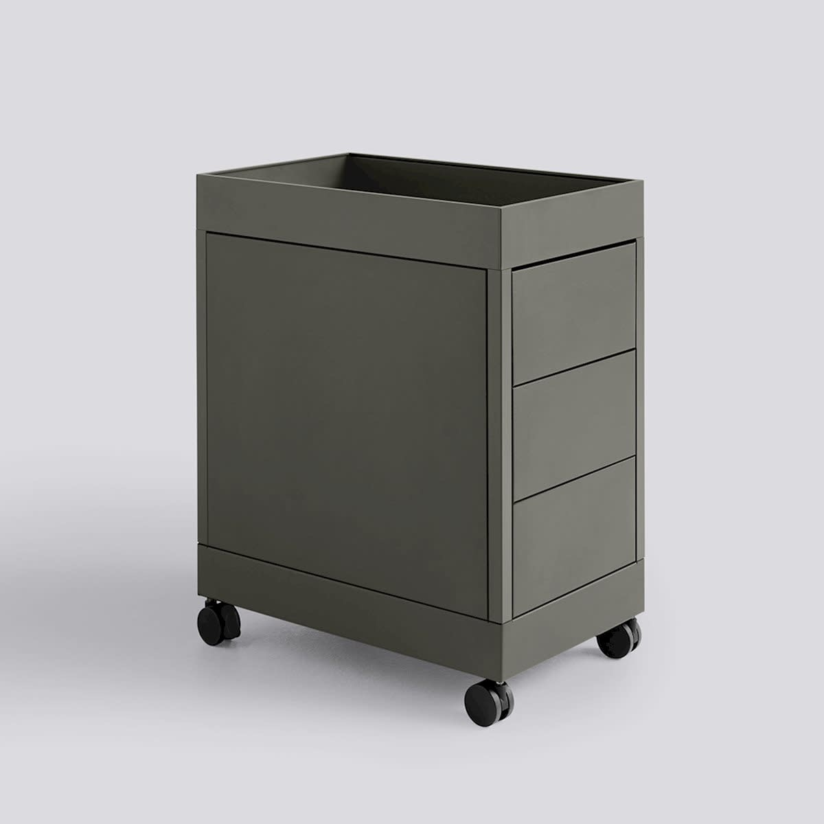 New Order Trolley - B 3 Drawer and tray top incl. lock-3