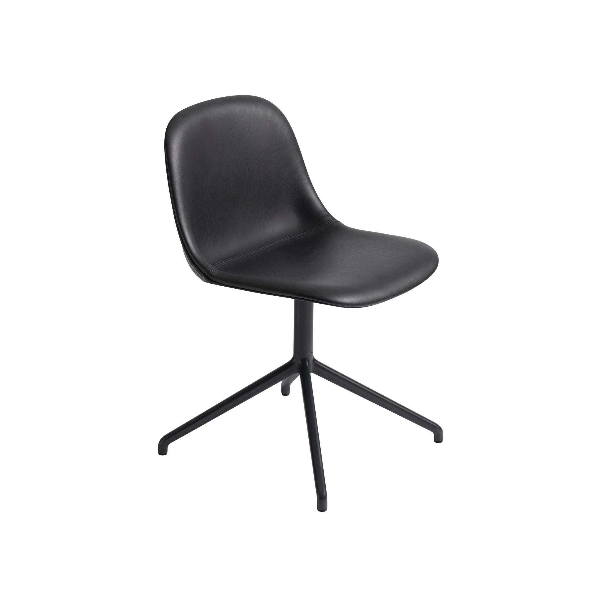 Fiber side chair swivel base w.o. return-12