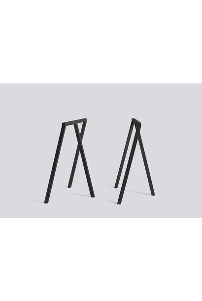 Loop Stand Frame H72/B100cm Black steel (SET)**