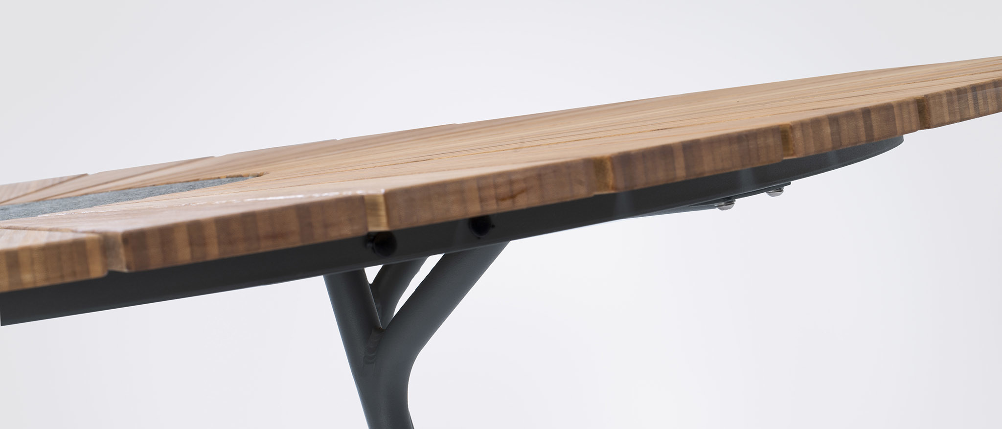 Circle Dining Table Bamboo-4