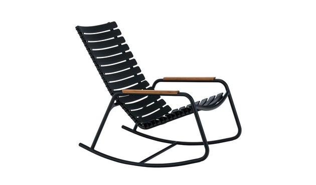 Clips rocking chair - with bamboo armrest-4