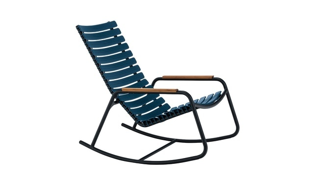 Clips rocking chair - with bamboo armrest-3