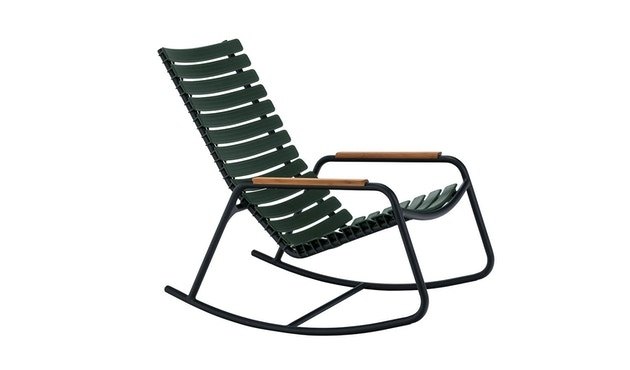 Clips rocking chair - with bamboo armrest-5