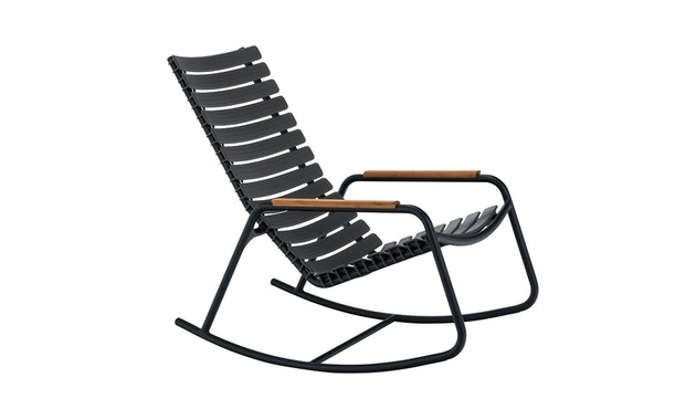Clips rocking chair - with bamboo armrest-6