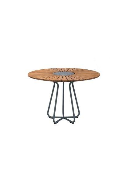 Circle Dining Table Bamboo