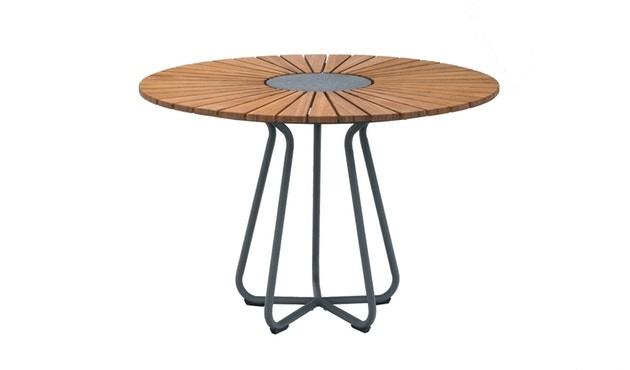 Circle Dining Table Bamboo-1