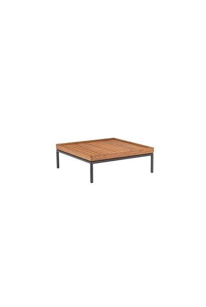 Level Lounge sofa - Table bamboo