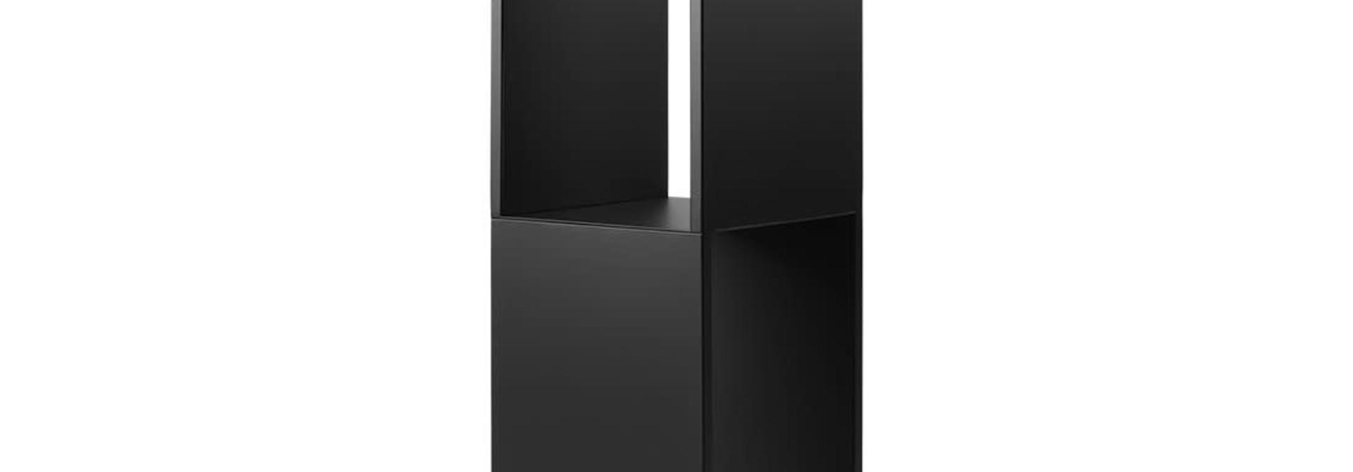 Pedestal Table Black High