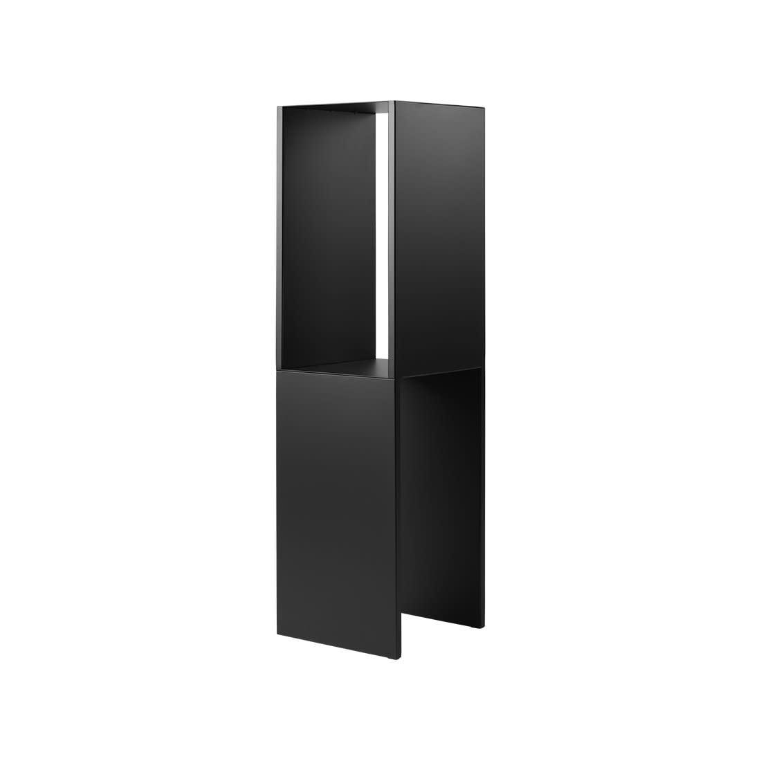 Pedestal Table Black High-1