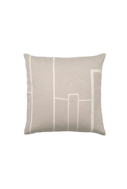 Architecture cushion 60x60