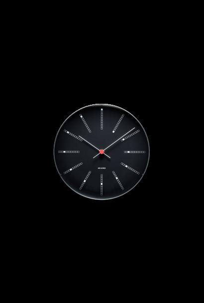 Bankers wall clock black