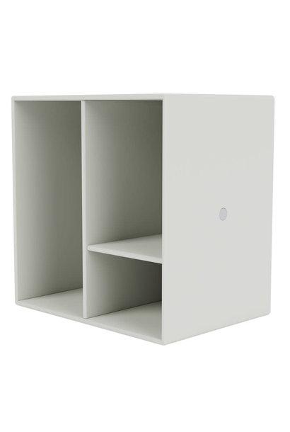 Mini module with shelves