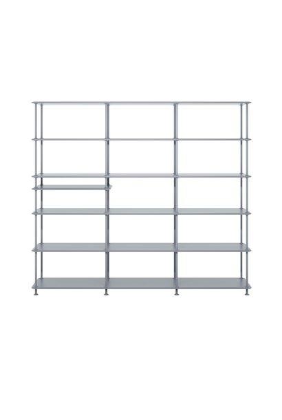 Free shelving system - Large shelf and room divider