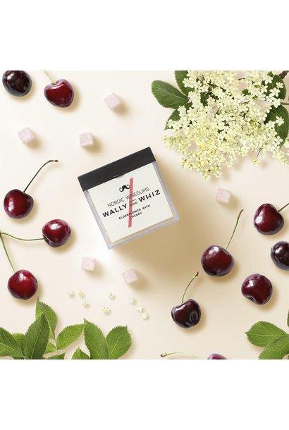 Elderflower + cherry