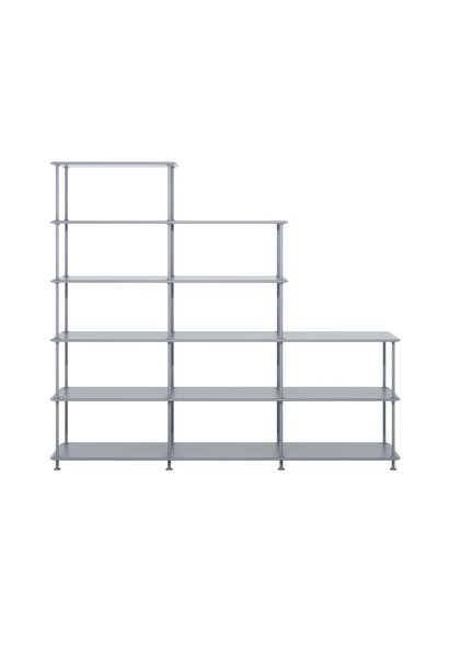 Free shelving system - Shelf with varying heights