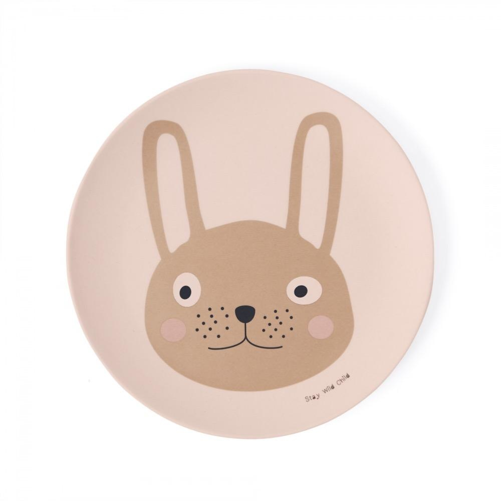 Rabbit Bamboo Tableware Set-2