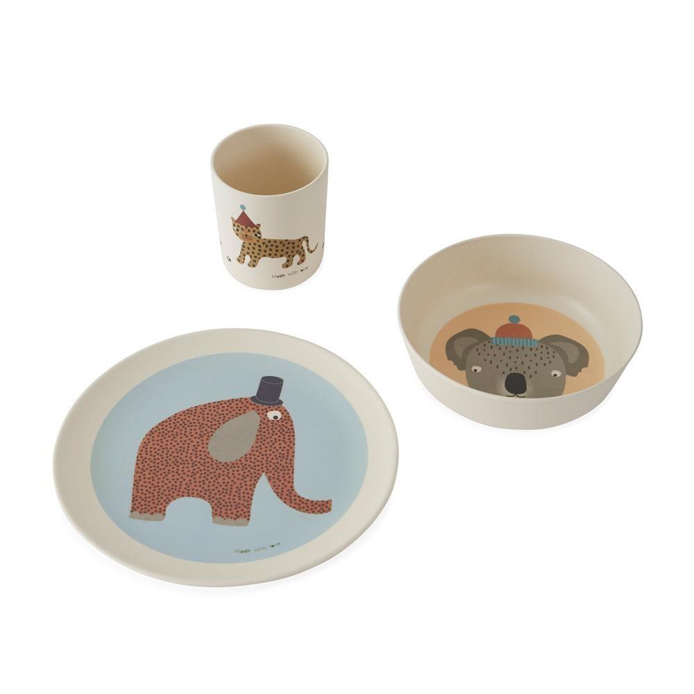 Hathi Bamboo Tableware Set-1
