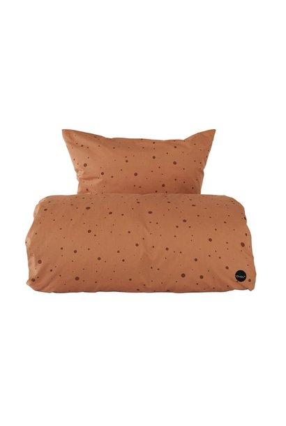 Dot bedding Baby Caramel