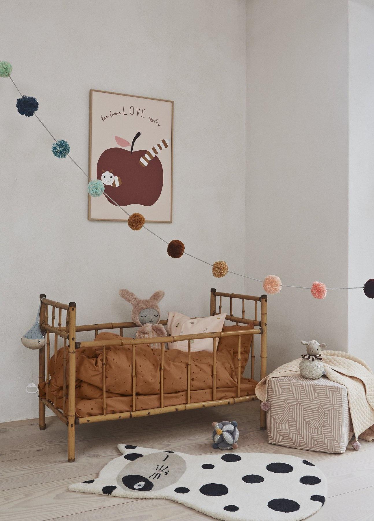 Dot bedding Baby Caramel-2