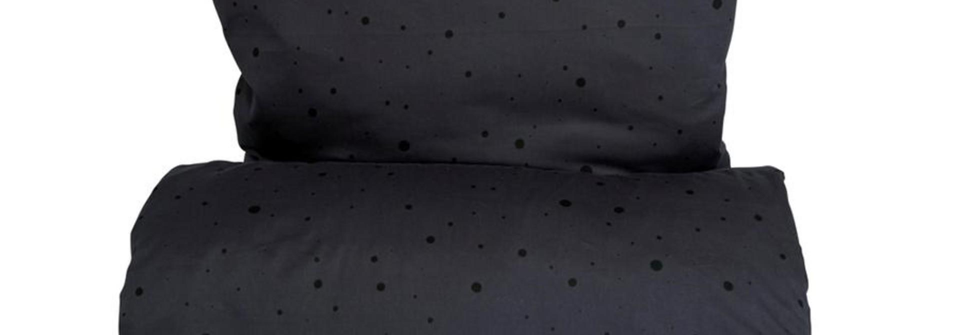 Dot bedding Junior Anthracite/Black