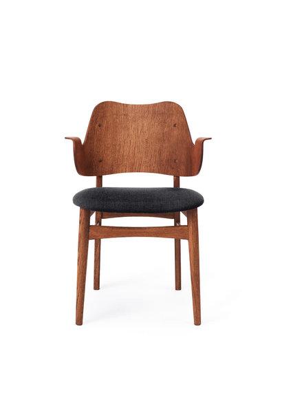 Gesture Chair Teak Seat Upholstery